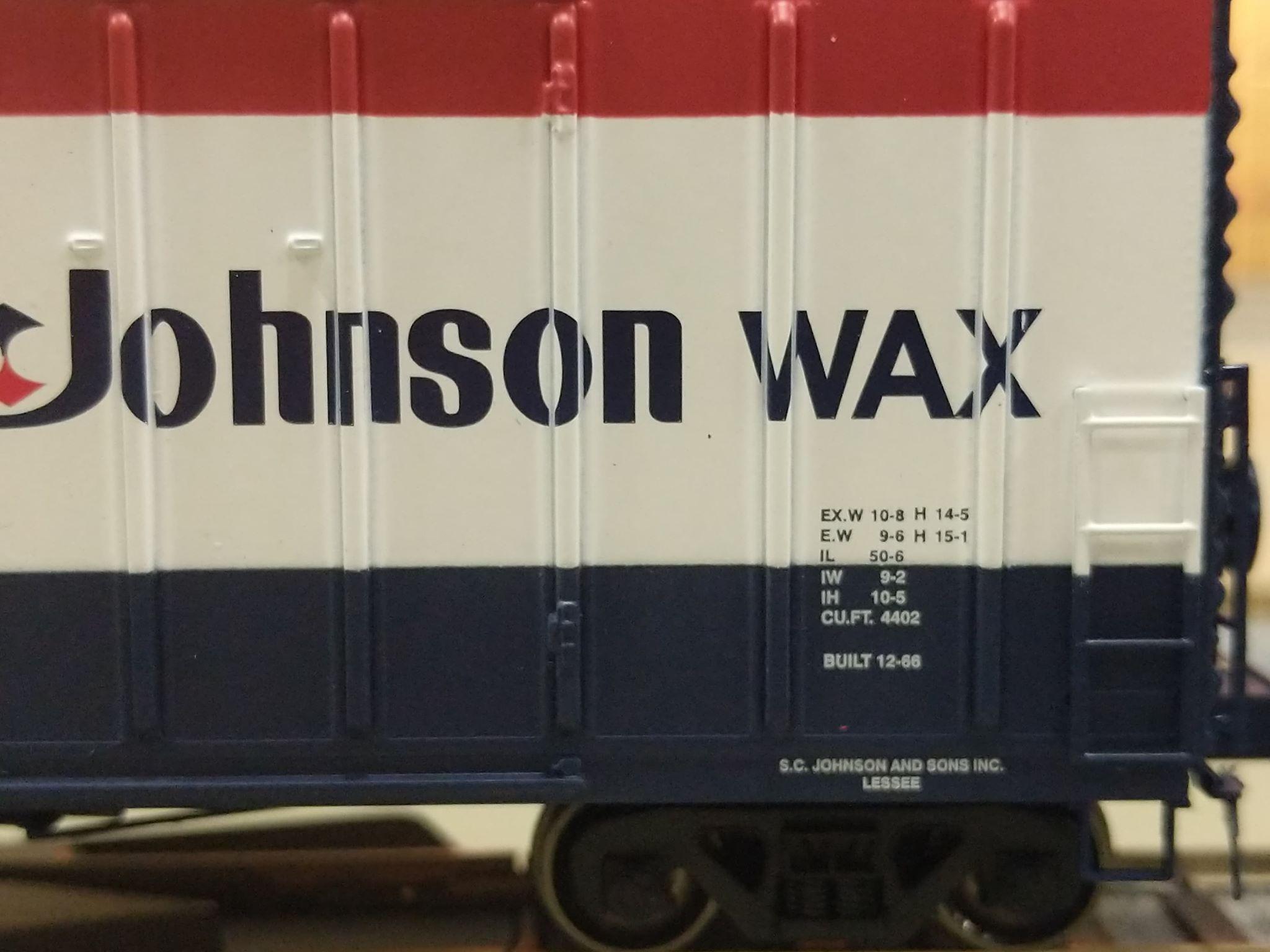 Athearn HO Ready to Run 50/' NACC Box JWAX #46960