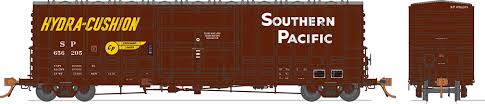 Rapido 137002-B HO Scale - B-100-40 Boxcar: Southern Pacific - Delivery - Single Car #656216