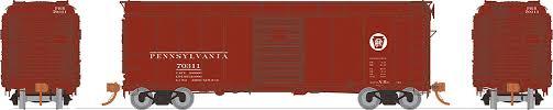 Rapido 123002-E HO Scale - PRR X31A Single-Door Boxcar: Circle Keystone - Single Car #70183
