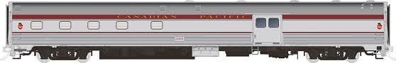 Rapido 114004 HO Scale - Budd Baggage-Dorm Maroon Scheme - CPR #3012