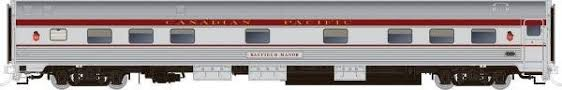 Rapido 119002 HO Scale - Budd Manor Sleeper Maroon Scheme - CPR, Blair Manor #10307