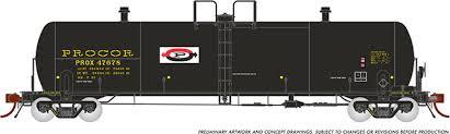 Rapido 135004-B HO Scale - Procor GP20 20K Gal Tank Car: PROX As Delivered w/ Split P Logo - Single Car #47725