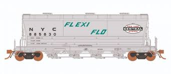 Rapido 133003-6 - HO ACF PD3500 Flexi Flo Hopper - NYC As Delivered (963H) - In Service 1965 No,885893
