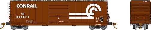 Rapido 139006-E HO Scale - Evans X72 Box car: Conrail Large Logo - Single Car #269377
