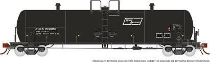 Rapido 135007-B HO Scale - Procor GP20 20K Gal Tank Car: NCTX North American As Delivered - Single Car #23031