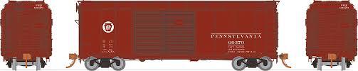 Rapido 123008-F HO Scale - PRR X31A Double-Door Boxcar: Circle Keystone - Single Car #69434