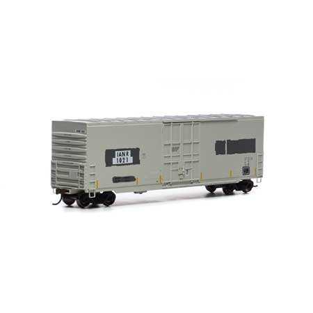 Athearn Roundhouse 1681 HO Scale - 50Ft Smooth HC Plug Box - IANR #1033