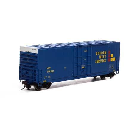 Athearn Roundhouse 1689 HO Scale - 50Ft Smooth HC Plug Box - VCY #179031