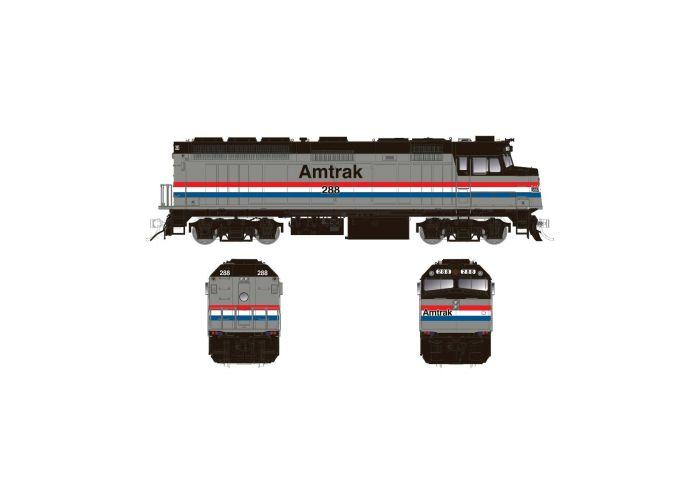 Rapido 083105 HO Scale EMD F40PH Ph2, Standard DC, Amtrak Phase III No.309