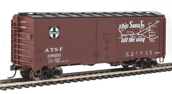 Walthers HO 1314 Mainline 40 Ft Association of American Railroads 1944 Boxcar - Santa Fe #139170