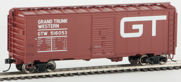 WalthersMainline HO 1782 40 FT AAR 1948 Boxcar - Ready to Run - Grand Trunk Western 516184