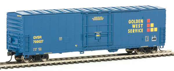 Walthers Mainline HO 2021 50 Ft Insulated Boxcar - Ready to Run - Golden West Service #700027