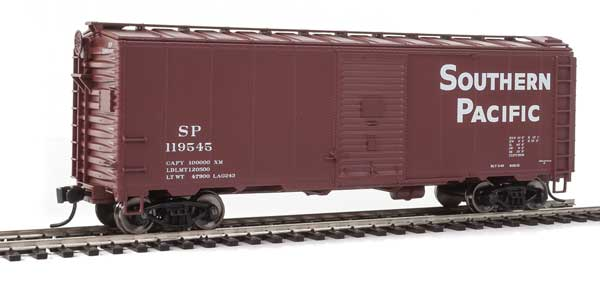 WalthersMainline HO 2723 40 Ft AAR Modified 1937 Boxcar - Ready to Run - Southern Pacific 119545
