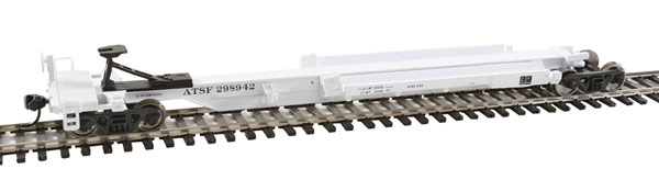 WalthersMainline 5252 HO 263' Five-Unit All-Purpose 48' Spine Car - Ready to Run Atchison, Topeka & Santa Fe ATSF #298945