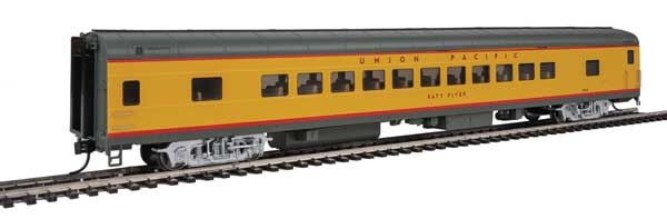 Walthers Proto 18503 - HO 85ft ACF 44-Seat Coach w/lights - Union Pacific (Katy Flyer) #5468
