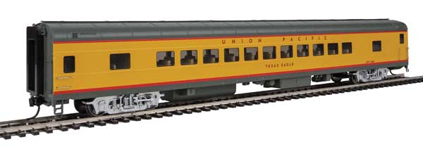 Walthers Proto 18507 - HO 85ft ACF 44-Seat Coach w/lights - Union Pacific (Texas Eagle) #5483
