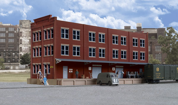 Walthers 4063 HO Cornerstone Trackside Post Office