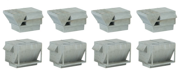 Walthers 4077 HO Cornerstone - HVAC Units