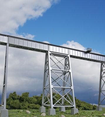 Walther's Cornerstone 4554 HO Steel Railroad Bridge Tower - Kit
