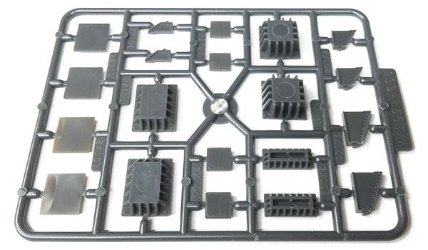 Walthers 4559 HO Cornerstone Bridge Shoes & Adapters Assortment - 4 units
