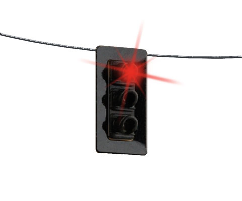 Walthers 4362 HO SceneMaster Traffic Light - Single Sided Hanging