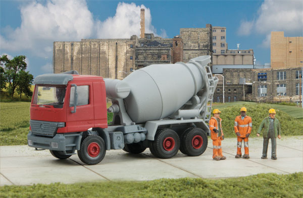 Walthers SceneMaster 11008 HO Cement Ready Mixer Truck