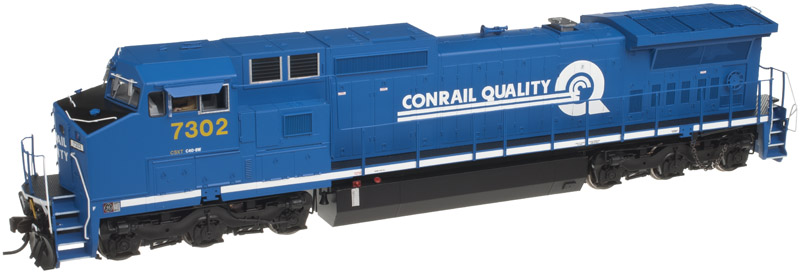 Atlas Model Railroad Master Silver Diesel GE Dash 8-40CW Phase II  DCC Ready CSX #7307