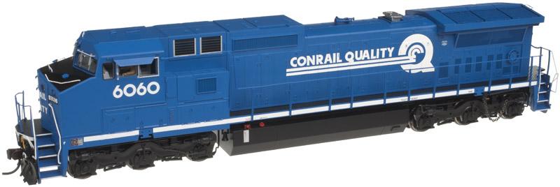 Atlas Model Railroad Master Gold Diesel GE Dash 8-40C Phase II  DCC & Sound Conrail #6060
