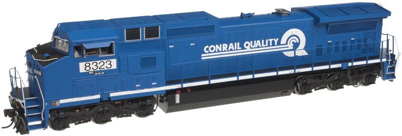 Atlas Model Railroad Master Silver Diesel GE Dash 8-40CW Phase II  DCC Ready NS #8417