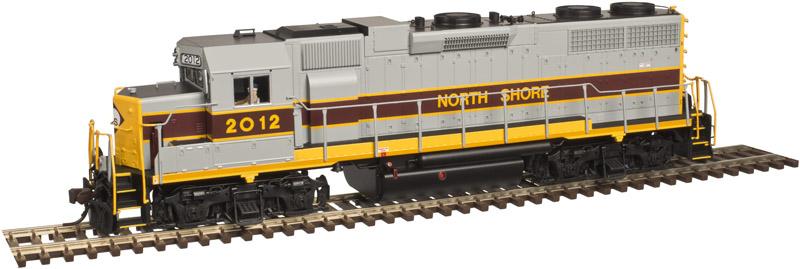 Atlas Model Railroad 10002409 HO Scale EMD GP40 Low Nose w/Sound & DCC - Master(R) Gold -- North Shore
