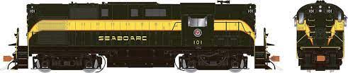 Rapido 31588 HO - Alco RS-11, 2nd Run - Diesel Locomotive - DCC & Sound - Seaboard Air Line - Delivery #104