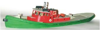 Sylvan Scale Models 1026 - HO Scale - Great Lakes Diesel Tugboard Kit - Unpainted and Resin Cast