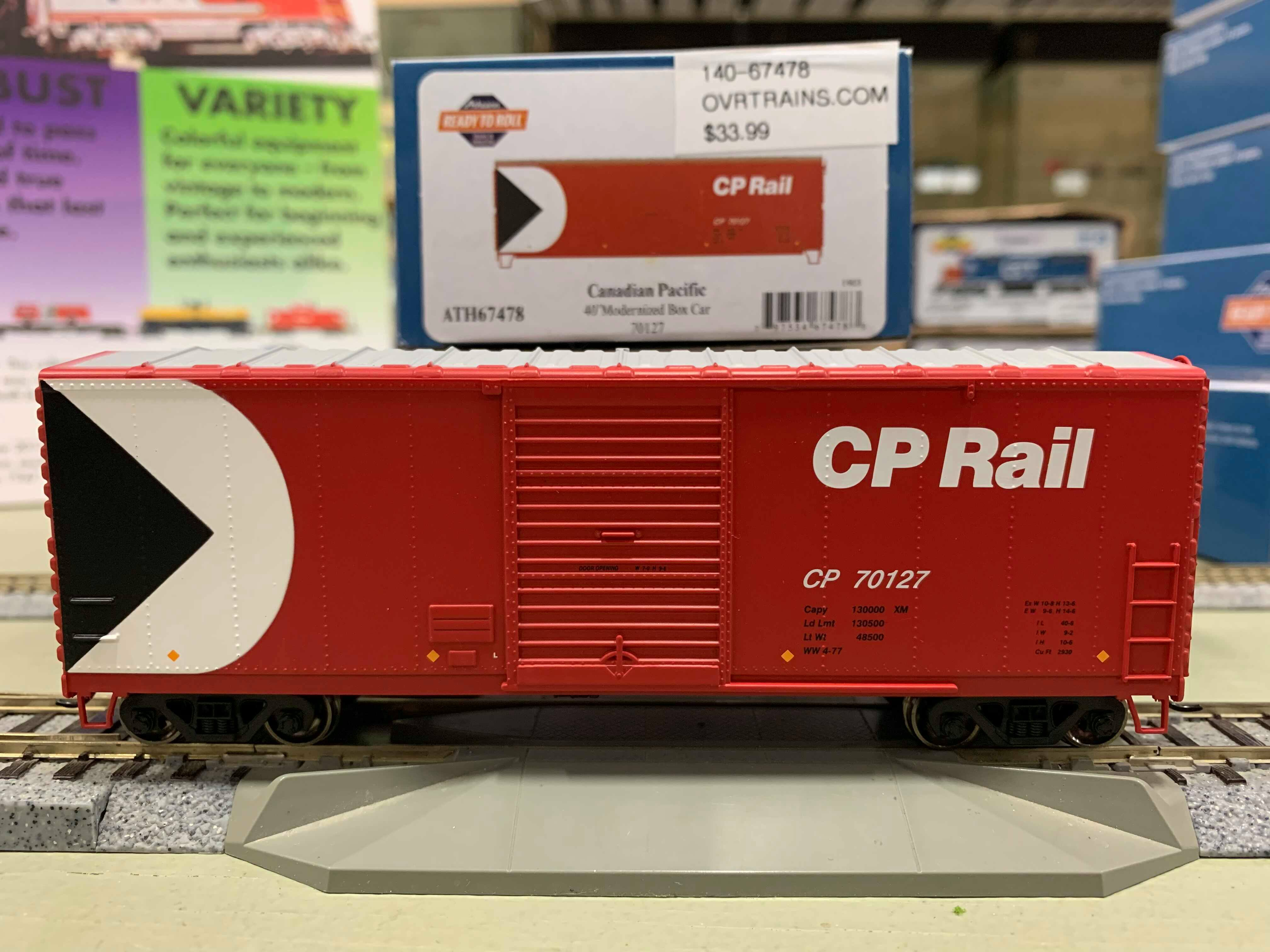Athearn RTR 67477 HO - 40 Ft Modernized Box - CPR #70035