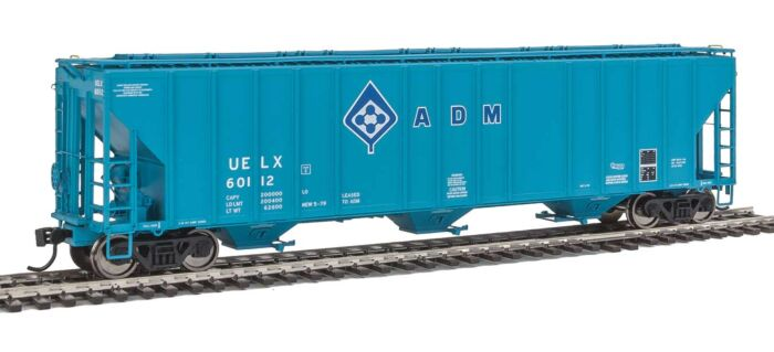 Walthers Proto 106142 - HO 55Ft Evans 4780 Covered Hopper - ADM (UELX) #60112