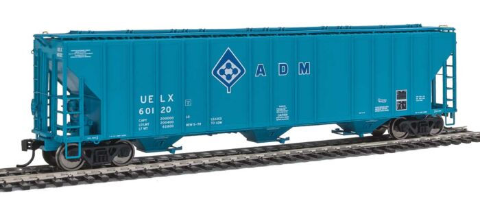 Walthers Proto 106144 - HO 55Ft Evans 4780 Covered Hopper - ADM (UELX) #60120