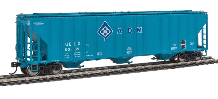Walthers Proto 106145 - HO 55Ft Evans 4780 Covered Hopper - ADM (UELX) #60135