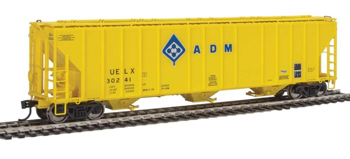 Walthers Proto 106151 - HO 55Ft Evans 4780 Covered Hopper - ADM (UELX) #30241