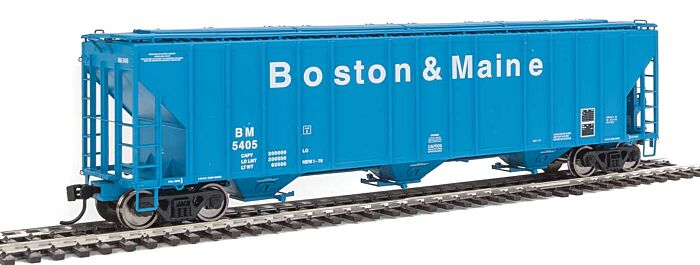 Walthers Proto 106155 - HO 55Ft Evans 4780 Covered Hopper - Boston & Maine #5405