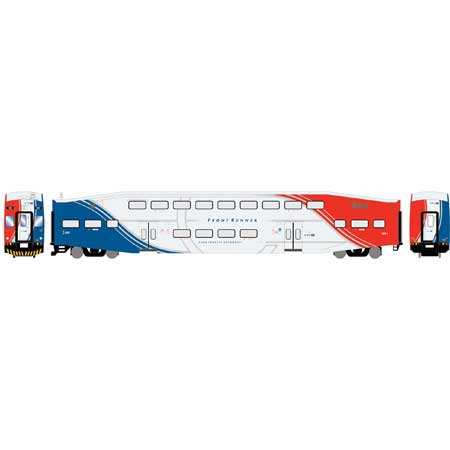 Athearn RTR 25969 HO Scale - Bombardier Cab - Utah Frontrunner #111