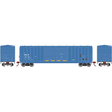 Athearn Roundhouse 1096 HO 50ft FMC 5283 Double Door Box,MD&W No.8093