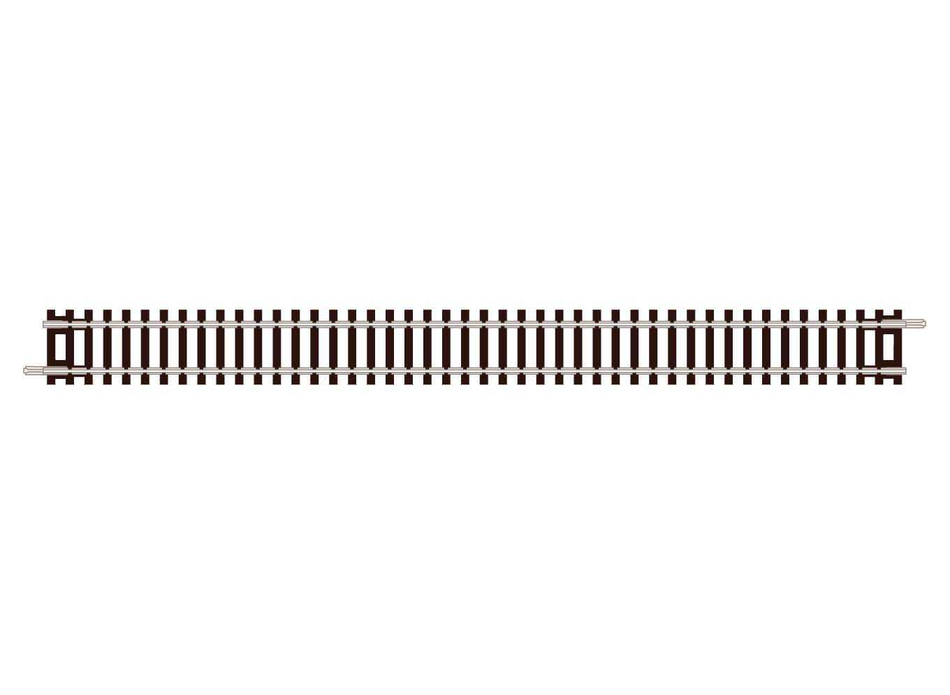 Peco ST-11 - Setrack N Scale - Code 80 Double Straight