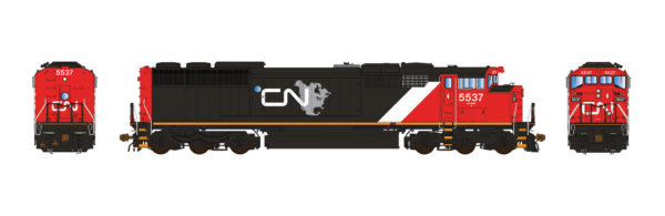 Aurora Miniatures Inc HD1N11D HO - GMD SD60F Diesel - DCC/Sound - CN (North America - Map) #5537