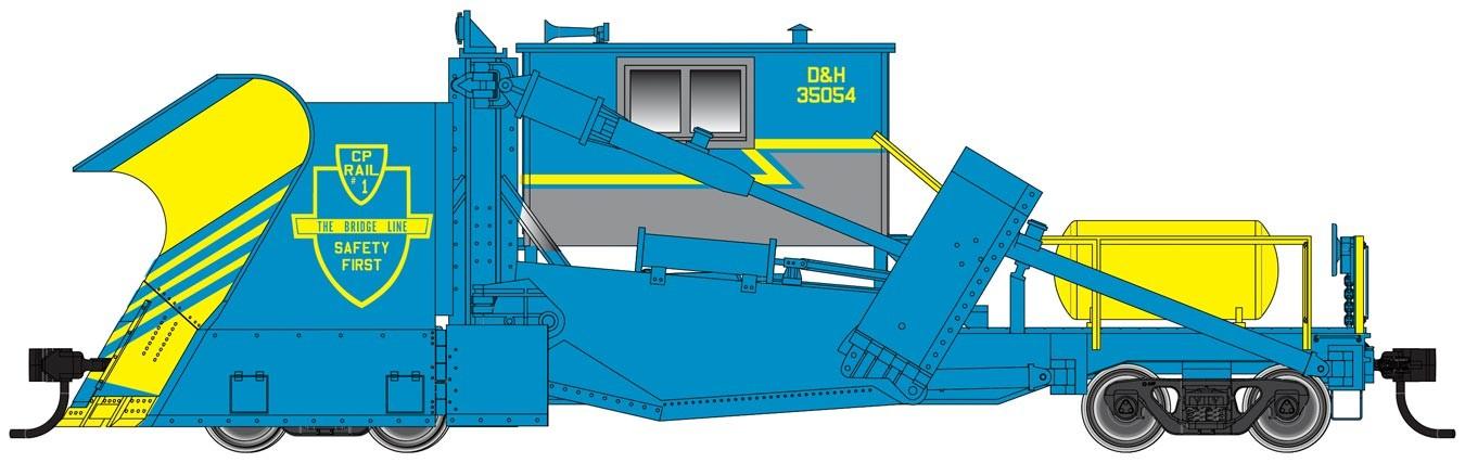 Walthers Proto 110121 - HO Ready to Run - Jordan Spreader - Delaware & Hudson #35054