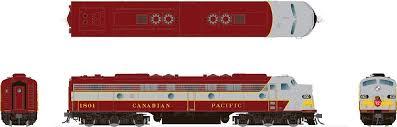 Rapido 28014 HO - EMD E8A (DC/Silent) Canadian Pacific - Block Scheme: #1802