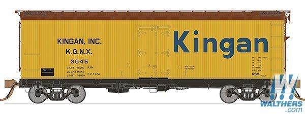 Rapido Trains 121057-2 37ft General American Meat Reefer Morris Rifkin No.5105