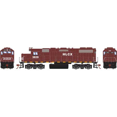 Athearn Roundhouse 12528 HO GP38-2 HLCX DCC Ready No.3828