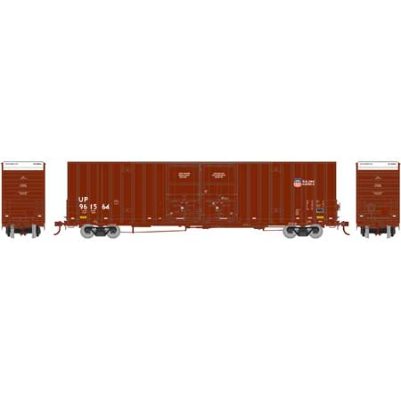 Athearn 75127 HO Scale - RTR 60Ft DD Hi-Cube Box - UP/Building America #2