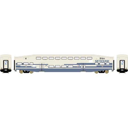 Athearn RTR 25962 HO Scale - Bombardier Cab - Metrolink SCAX #129