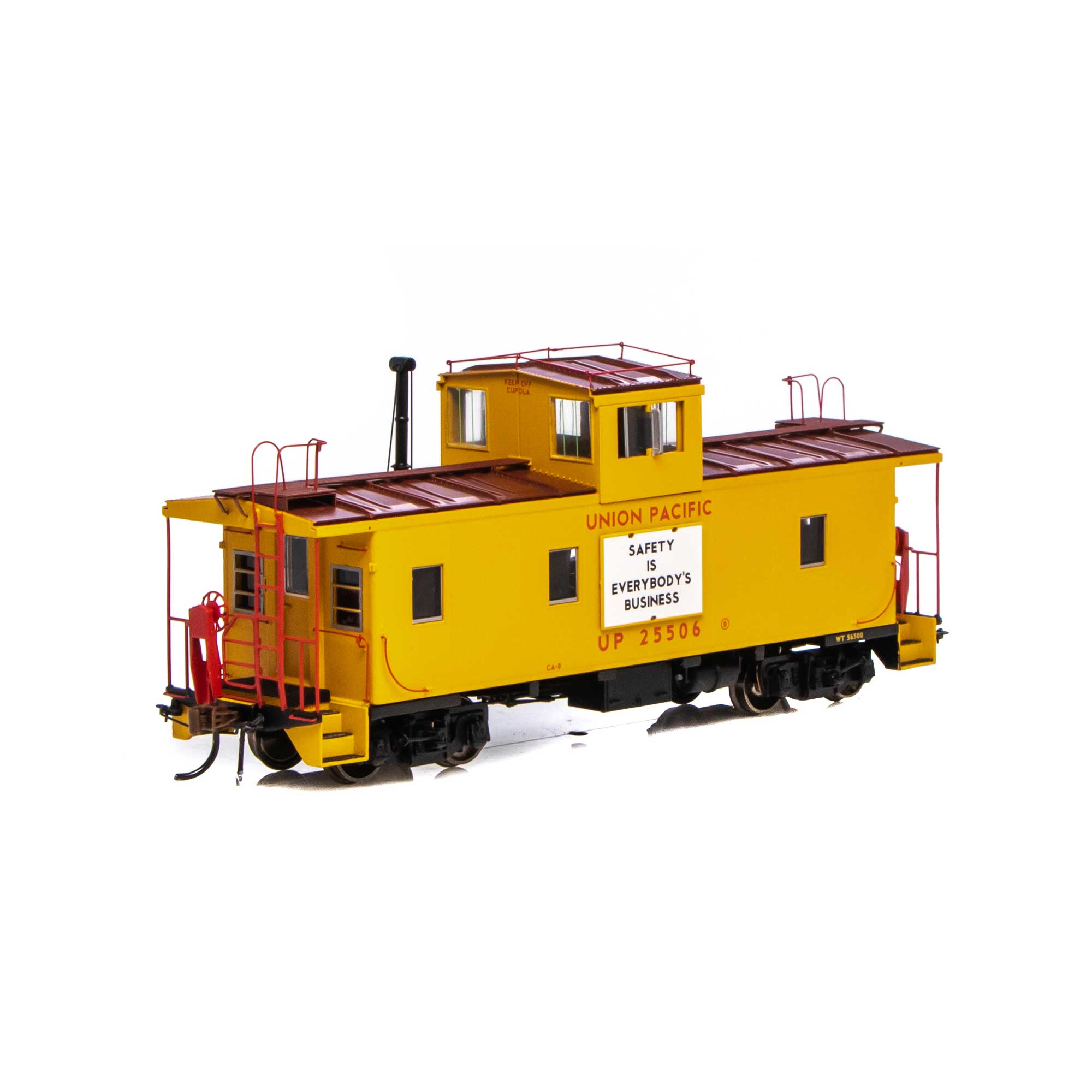 Athearn G78513 - HO Scale ICC Caboose w/Lights DCC Ready - UP #25534