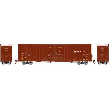 Athearn 75131 HO Scale - RTR 60Ft Gunderson DD HC Box, BNSF/Wedge #761228